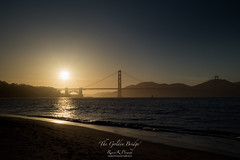 'The Golden Bridge' (Raymond K. Photography) Tags: sanfrancisco sunset outdoor goldengatebridge sonya7s sonyepz18105mmf4goss