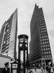 """Berlin, """"Postdamer Platz"""" (Claude Maire) Tags: berlin blakandwhite postdamerplatz"""