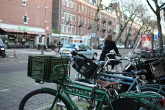 On Your Bike (Stace_xoxo) Tags: life travel winter building travelling car amsterdam bike canon buildings 28mm bikes pancake everydaylife 2015 1200d canon1200d winter2015 amsterdam2015 pancake24mm