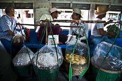 Circle Line, Yangon (Francesca Braghetta) Tags: travel portraits canon photography fotografie photos burma photojournalism blogger photowalk fotografia backpacker burmese amore travelblog bagan photooftheday fotografare bestphoto avventure fotoreportage birmania anm avventurenelmondo manmar avventuroso blogdiviaggi