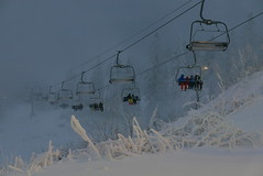 White christmas in Oslo (Odd Stiansen) Tags: snow oslo norway desember snø skisenter vinterpark