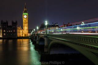 Westminster Bridge and the Houses of Parliament (Big Ben)