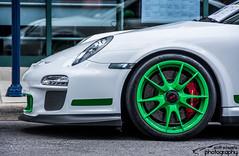 Porsche 911 GT3 RS (scott597) Tags: ranch columbus ohio white green for rally 911 porsche rs gt3 2015