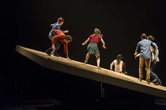 Compagnie Yoann Bourgeois (DanceTabs) Tags: uk men london climb women circus stage performing arts barbican entertainment gravity acrobatics acrobat balance staged performers performer acrobatic contemporarydance hewhofalls yoannbourgeois dancetabs mariefonte eliselegros londoninternationalmimefestival2016 contemporaryvisualtheatre limf2016 compagnieyoannbourgeois costumesginette francescaziviani jeanbaptisteandre juliencramillet lightingadelegrepinet mathieubleton bodieslean hangandfall