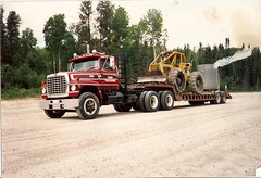 Ford (jr-transport) Tags: ford logging clark lt 9000 ltl skidder 664 664b