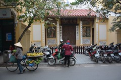 Hanoi street scene (Hanoi, Vietnam 2015)