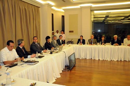 El gobernador, Javier Duarte de Ochoa, presentó el proyecto preliminar del Plan Integral de Movilidad Urbana