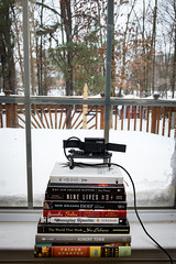 23 of 366. Rudimentary blizzard time-lapse set-up shot. (JeauxFoto) Tags: timelapse project365 blizzardof2016 jeauxfoto365 twipfamily365