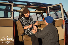 Surprise Proposal (Eric Arnold Photography) Tags: city wedding lake bus beach window vw volkswagen engagement samba xx deluxe ring havasu proposal kombi lakehavasu propose 23window busesbythebridge busesbythebridgexx busesbythebridge20