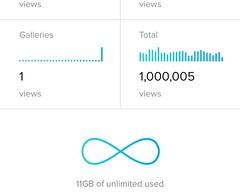 One million Views. (leppre) Tags: flickr million onemillionviewsonflickr viewsmillionviews
