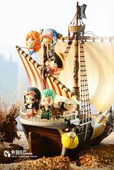 One Piece (Thai Toy Photographer) Tags: anime robin japan toys island model chopper ship outdoor cartoon manga trading figure zoro figurine onepiece figures luffy nami sanji usopp monkeydluffy toyphotography tonytonychopper nicorobin goingmerry ochatomoseries