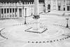 St. Peter's Square (Linus Wärn) Tags: china plaza blackandwhite bw monochrome miniature blackwhite asia guangdong shenzhen stpeterssquare themepark windowoftheworld