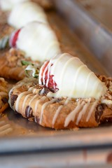 Valentine's Crazy Cookies (melara_lisa) Tags: dessert strawberry cookie valentines whitechocolate