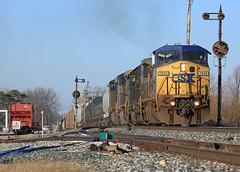 North Ottawa siding (GLC 392) Tags: light ohio color lights sub ottawa north toledo oh bo 40 siding ge signal position cpl csx subdivision emd cpls c408w 7849 cw408