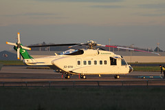 EZ-S720 Sikorsky S-92A Turkmenistan Government Stansted 19th January 2016 (michael_hibbins) Tags: