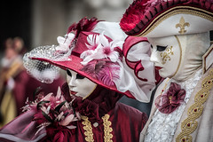Venezia - Carnevale 2016 (walter spangher) Tags: carnival venice red italy baby sexy beautiful sex canal san italia babe teen marco gondola bella carnevale rosso venezia canale maschera bellissima italija