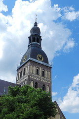 Exterior Catedral Luterana Santa Maria o de la Cpula Riga Letonia 05 (Rafael Gomez - http://micamara.es) Tags: santa de la exterior o maria dom catedral riga doms luterana zu cpula letonia rgas