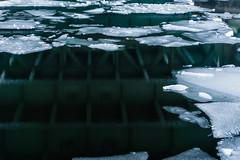 Under the Bridge (_LABEL_3) Tags: bridge ice water reflections wasser brcke reflektionen spiegelungen selp1650