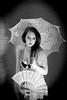 Catelin (jasonclarkphotography) Tags: lighting newzealand christchurch portrait white black girl beauty fan blackwhite model modeling lace sony lingerie parasol modelling nex canterburynz a6000 emount jasonclarkphotography