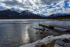 Vermillion Lakes (Scott Martin Calgary) Tags: ca lake canada mountains clouds alberta banff vermilionlakes improvementdistrictno9