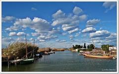 El Palmar- Valencia (Lourdes S.C.) Tags: espaa agua cielo nubes laguna barcas nwn laalbufera elpamar provinciadevalencia