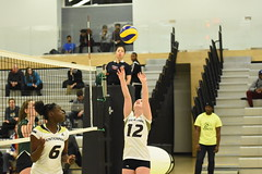 WVB vs Fleming (15) (centennial_colts) Tags: centennial dive save womens varsity knights colts volleyball kills bump digs serve fleming ocaa