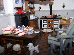 102_7542 (Large) (sheila32711) Tags: kitchen miniature baking dollshouse bakingday