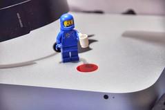 Oh no! What will Steve say!? (parik.v9906) Tags: cup project fun mac nikon lego juice edited mini days macmini legos benny 365 spilt mistakes minifigure d90 minifigures 365project thelegomovie