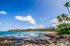 untitled-1736 (PortugePunk) Tags: travel vacation beach landscape hawaii us waves unitedstates maui lahaina napili