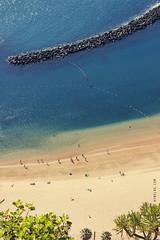 Winter in Tenerife (Kybenfocando) Tags: blue sea beach relax island mar spain sand happiness playa canarias calm arena vida tenerife felicidad plage canaryislands isla spiaggia sabbia