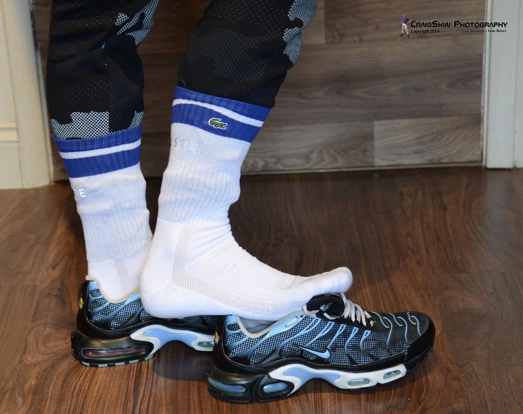 nike tn socks