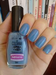 Horizonte Azul - Colorama (Mari Hotz) Tags: azul unha esmalte colorama