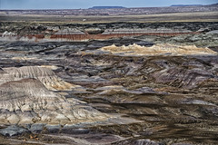 Painted Desert (explored) (Daniel Schwabe) Tags: park travel arizona usa colors rock desert petrifiedforestnp