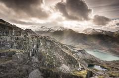 Light (Photo Lab by Ross Farnham) Tags: light mountain wales nikon mine snowdonia quarry d800