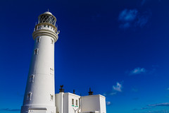 Flamborough Head lighthouse. (CWhatPhotos) Tags: pictures camera blue sea portrait sky lighthouse house clouds canon walking that photography eos day skies foto image artistic zoom pics head path walk yorkshire picture pic images east clear have photographs photograph fotos 7d ligth which contain flamborough 18200mm ridings cwhatphotos