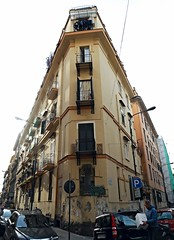 House of the sculptor Filippo Cifariello (Molfetta 1864-Naples 1936) at Via Solimene in Naples (* Karl *) Tags: italy naples vomero filippocifariello