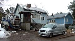Hkintie 11 (neppanen) Tags: house building suomi finland helsinki talo rakennus discounterintelligence sampen helsinginkilometritehdas hkintie11 hkintie
