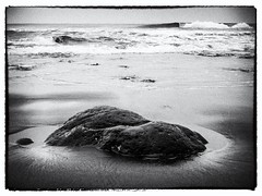 Rock on the Beach #0269, El Salvador (pbeens) Tags: elsalvador d30 canond30 201603 silverefexpro2 030filmnoir1