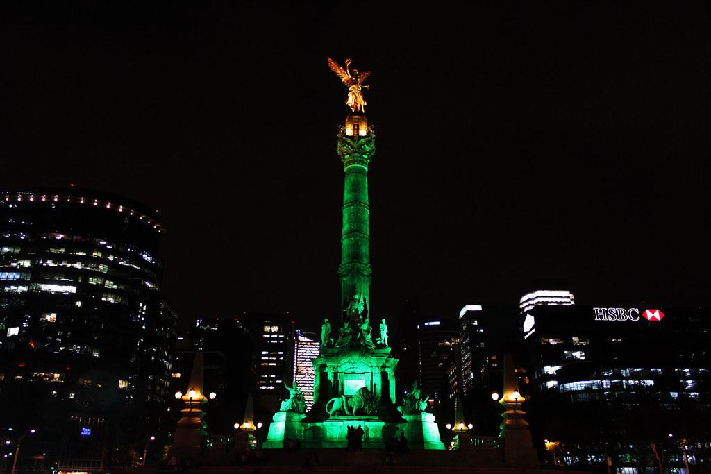 Image result for san patricio en mexico angel de la independencia