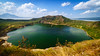 Taal Volcano Crater Lake (Hendraxu) Tags: travel sky cloud mountain lake nature water volcano high tour philippines crater destination taal taalvolcano talisay flickrestrellas