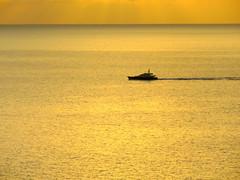 Golden hour (oobwoodman) Tags: sea mer boot golden boat meer solitude yacht caribbean bateau stlucia carabes westindies karibik saintlucia