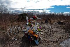 Roadside Memorial (Steve Malloy) Tags: memorial newbrunswick portelgin