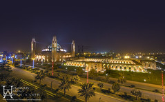 Bahria Mosque (Humayun Amjad) Tags: city night landscape architechture lahore hdr bahria