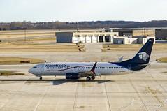 Aeromexico Boeing 737-852(WL) XA-AML XA-AML (MIDEXJET (Thank you for over 1 million views!)) Tags: wisconsin unitedstatesofamerica milwaukee boeing 737 mke 737800 boeing737800 boeing737 milwaukeewisconsin aeromxico generalmitchellinternationalairport 737852 kmke milwaukeemitchellinternationalairport gmia boeing737852 xaaml