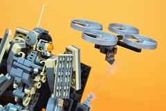 Decibelle_17 (Shadowgear6335) Tags: orange radio robot factory lego good technic hero bionicle mech moc shadowgear6335 bionicle2015