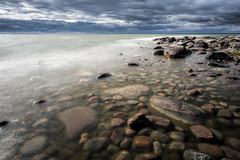 _U7A5445_1 (Robert Bjrkn (Hobbyfotograf)) Tags: longexposure sea lake water rev vnern sj lidkping hindens