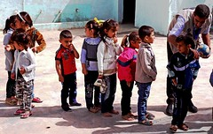 Refugee Child Safe Place (Joshua Zakary) Tags: poverty camp children education war refugees iraq aid conflict humanitarian kurdistan idp