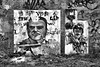 street art (edwin van buuringen) Tags: bw wall painting hdr dynamicphotohdr sonyslt77v