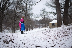 Anna at the Falls -7 (YGKphoto) Tags: park winter anna snow cold minnesota frozen costume cosplay outdoor minneapolis disney minnehaha