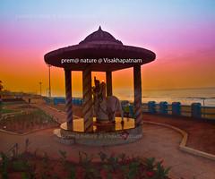 Gokul-Park,Visakhapatnam (prem swaroop) Tags: park sun beach hues idols rk raise gokul lordkrishna visakhapatnam radhakrishnulu